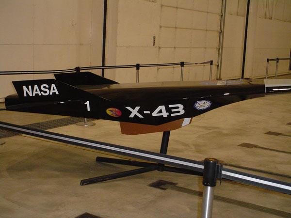 Hyper-X43C Steering Mechanism Achieves Mach 10