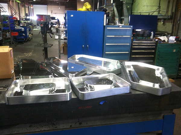 Machine molding