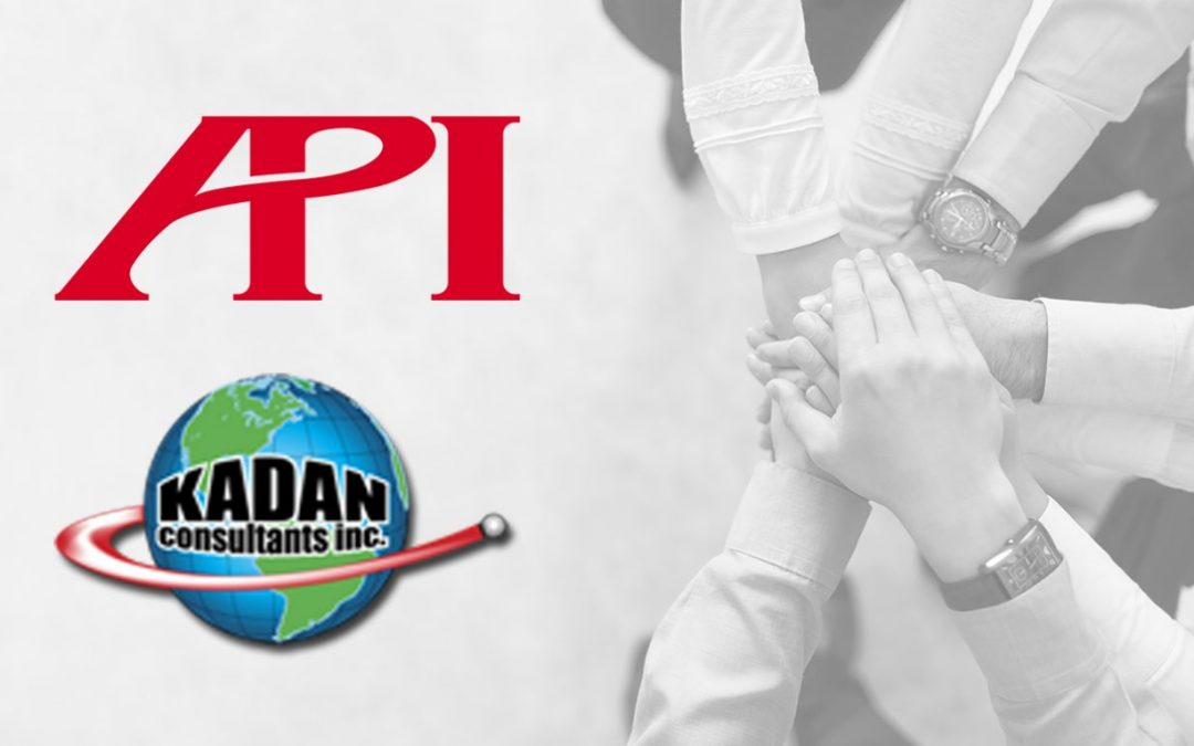 API and Kadan Consultants Announce Partnership To Distribute API Trackers and Service To West Coast