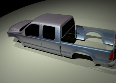 f-250 rendered
