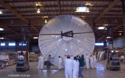 Dish Construction in Malaysia